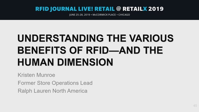 Understanding the Various Benefits of RFID—and the Human Dimension