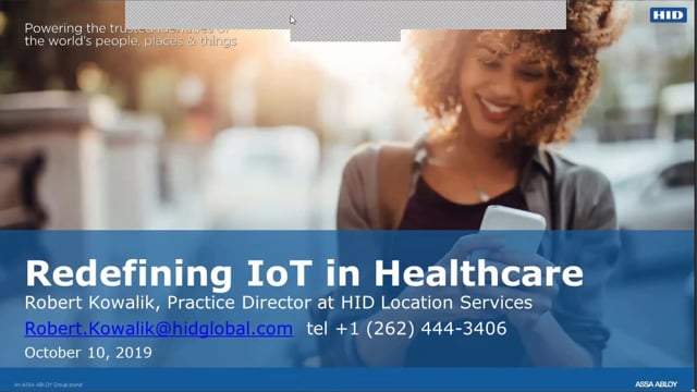 Redefining IoT in Healthcare