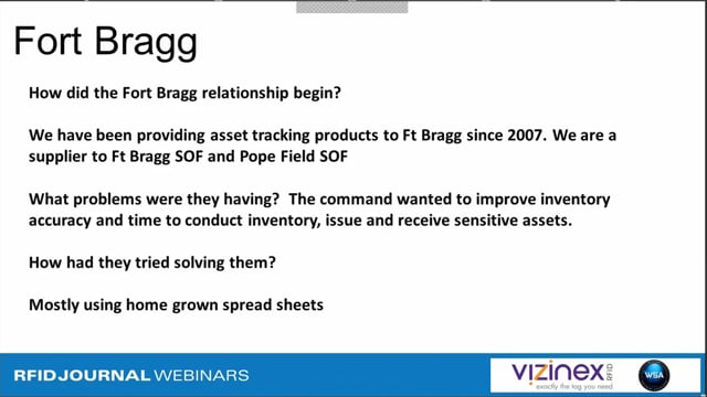 How Fort Bragg Improved Its Asset Tracking with RFID