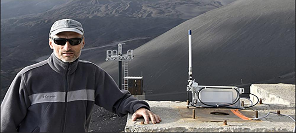 IoT at 10,000 Feet Tracks Volcanic Activity