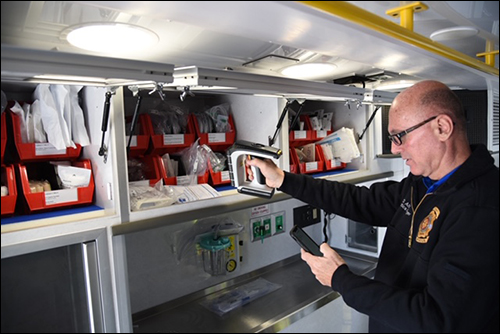 Polk County Fire Rescue Saves $40,000 Monthly via RFID