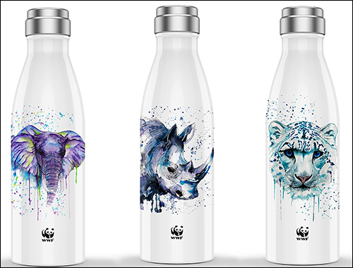 NFC Personalizes Ice Bottle to Reduce Waste
