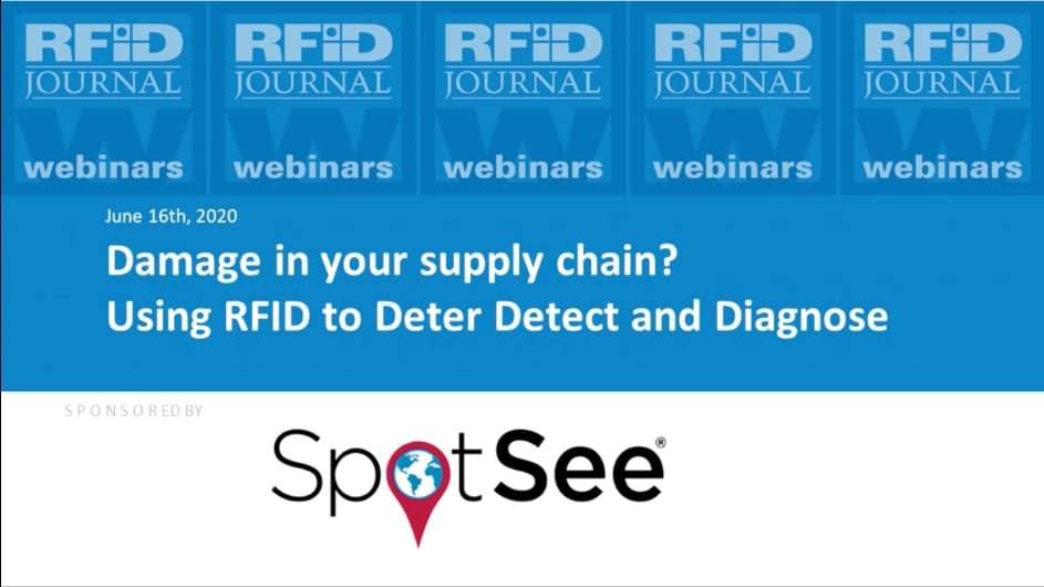 Damage in Your Supply Chain? Using RFID to Deter, Detect and Diagnose