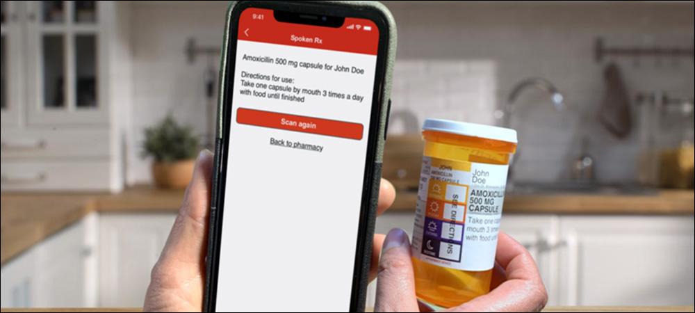 Medications Talk to Visually Impaired via NFC