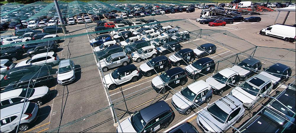 Vehicle Logistics Company Tracks Cars to Individual Spaces via RFID