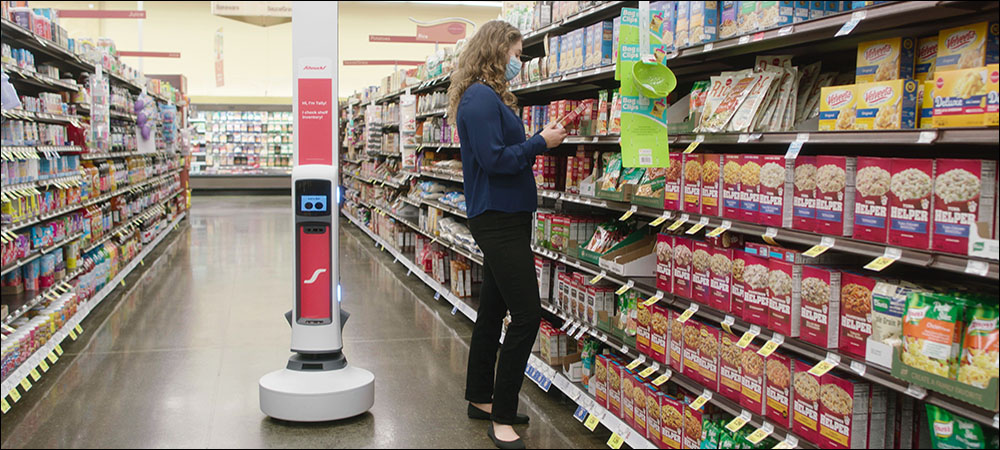 Food Retailers Piloting RFID Robot to Track Perishable Products