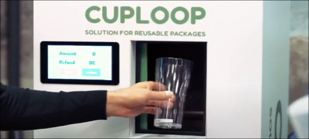 RFID Serves Up Sustainability with Cuploop's Reusable Cup Solution