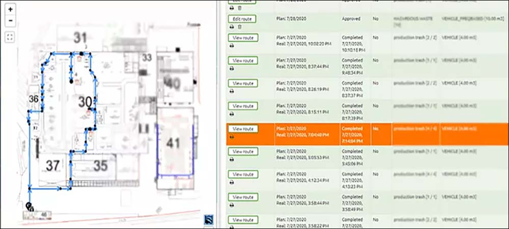 IoT Tracks Indoor Waste for Factories, Warehouses