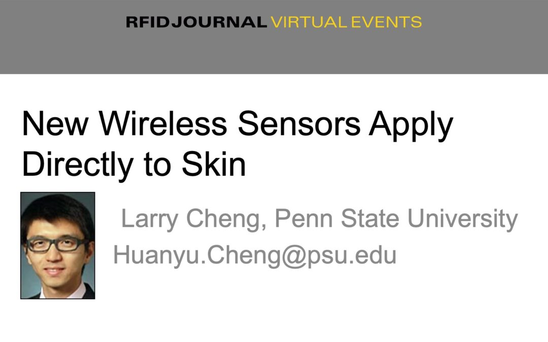 New Wireless Sensors Apply Directly to Skin, Improving Collection of Patient Information