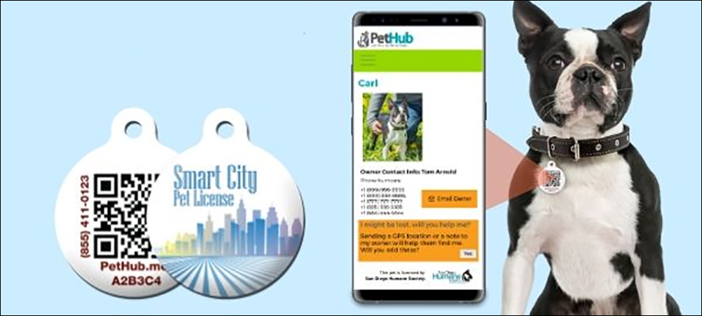 NFC Makes Lost Pet Info Digital to Hasten Rescues