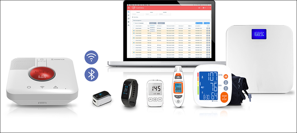 IoT Technology Provides Home Healthcare Monitoring