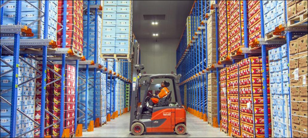 RFID Locates Cold Storage at Belgian Logistics Site
